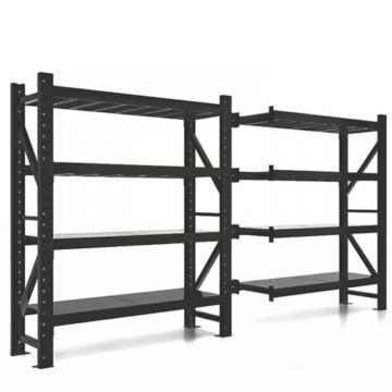 Commercial heavy duty 5 tiers black metal wire display rack