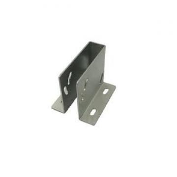 Metal slotted channel construction brackets for chiller power supply