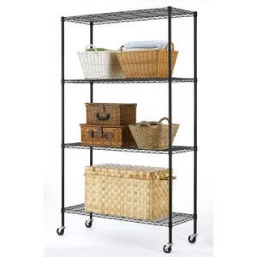 Wire Grid Wall Flooring Display Stand Metal Display Rack with wire hook