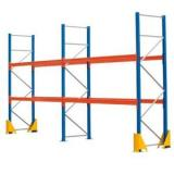 Heavy Duty Steel Box Beam Pallet Racking System For Warehouse Industrial Storage