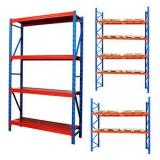 Industrial storage heavy duty steel warehouse rack for wholesale