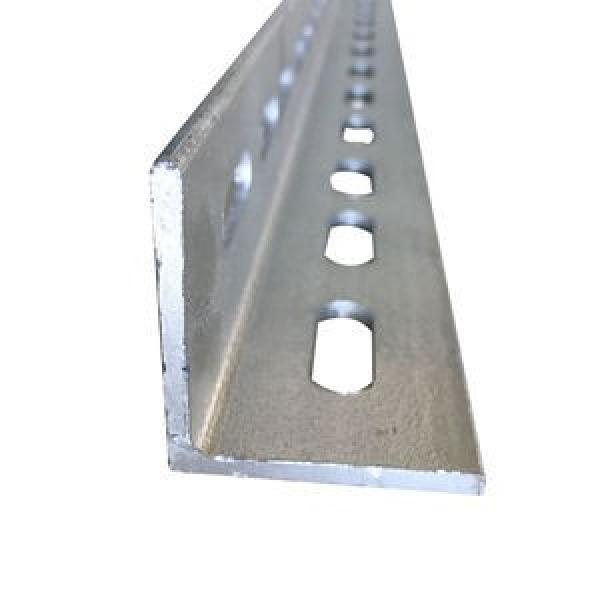 One-Stop Service Angle Slotted Racks Shelving Jracking Retail Grocery Store Display Rack Angle Steel Slotted Boltless Rivet Shelving #1 image