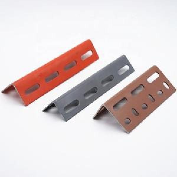 perforated 90 degree steel angle bar #2 image