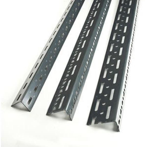 One-Stop Service Angle Slotted Racks Shelving Jracking Retail Grocery Store Display Rack Angle Steel Slotted Boltless Rivet Shelving #3 image