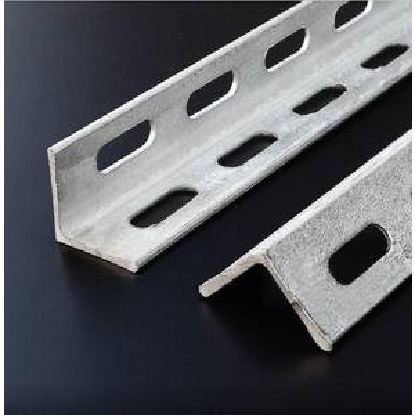 Low Carbon Steel slotted angle profiles bar perforated for structural used #1 image