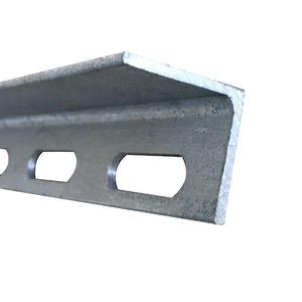 3m Low Price Punched Perforated Painted Galvanized Angle Iron stainless steel Galvanised slotted angle With holes #2 image