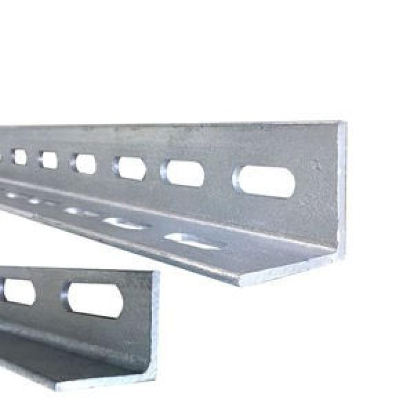 galvanized angle steel/ punching angle steel bar/hot dipped galvanized slotted angle #1 image