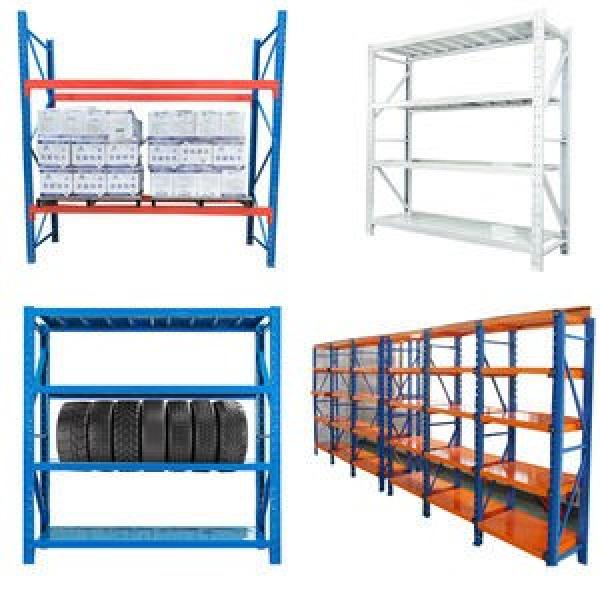 Alloy steel corrosion preventive White bottom wire shelving industrial shelving #3 image