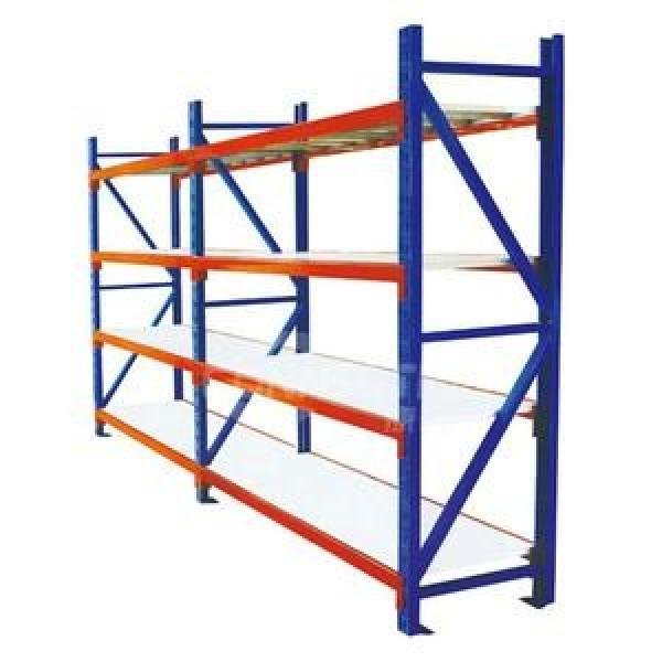 Heavy Duty Warehouse Shelving ISO9001:2008 Certification Passed Painting Storage Rack #1 image