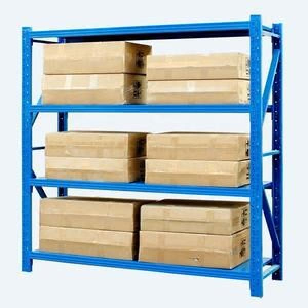 5 layer angle steel light middle duty metal warehouse storage rack and shelf #1 image