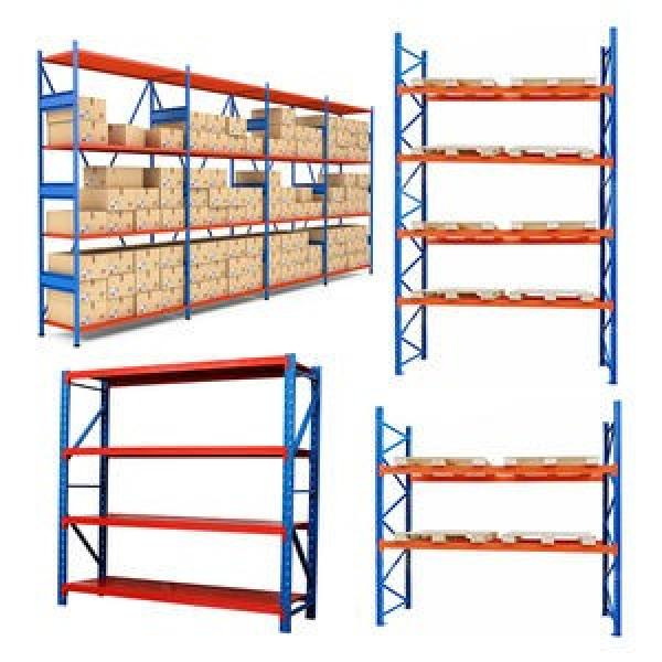 Adjustable tyre steel shelves tires price metal storage rack systems shelving wheel band for warehouse #2 image