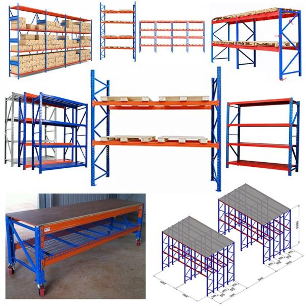 Warehouse Roll Formed Steel Structural 2 Ton Capacity Shelving And Pallet Rack #2 image