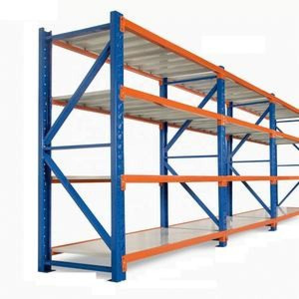 Adjustable tyre steel shelves tires price metal storage rack systems shelving wheel band for warehouse #3 image