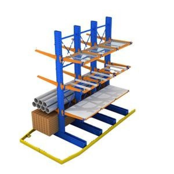 Stackable warehouse storage steel plate stacking racks For Tobacco #3 image