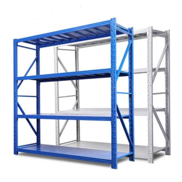 Q235 Durable Steel China Commercial Adjustable Metal Storage Rack Metal Rack With Wheels #1 image