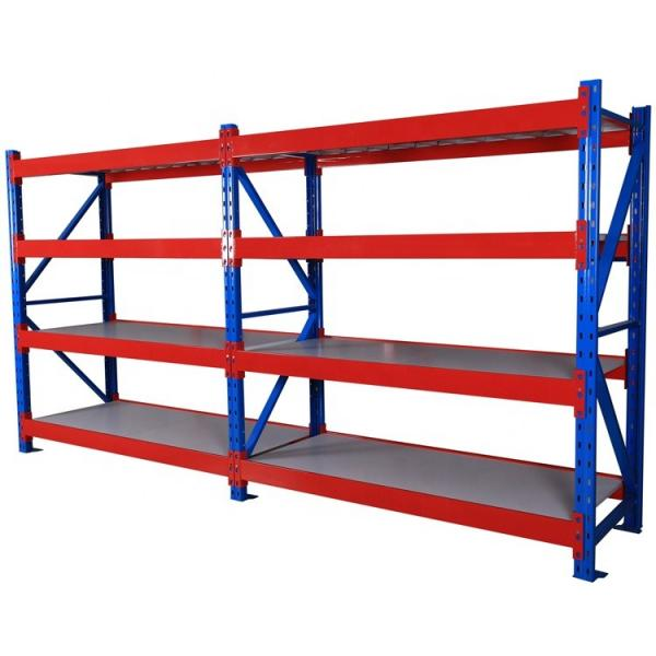 5 Tier Metal Heavy Duty Industry Racking Warehouse Shelves Storage shelving #3 image