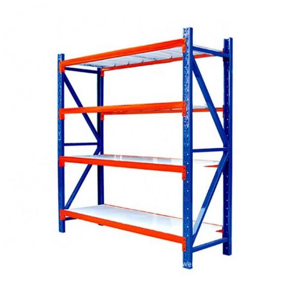 Warehouse Roll Formed Steel Structural 2 Ton Capacity Shelving And Pallet Rack #1 image