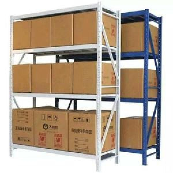 Heavy duty metal display rack for warehouse storage #2 image