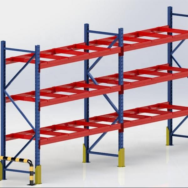china factory heavy duty metal stack racking #1 image