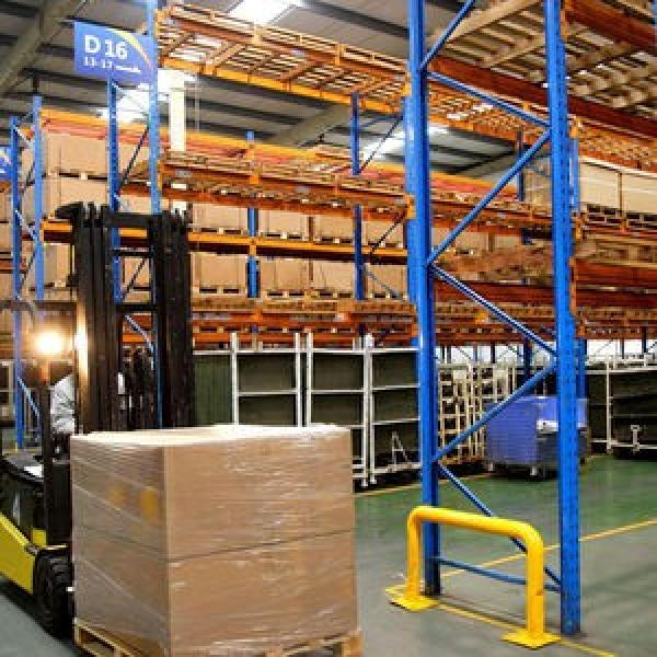 China Factory Good Capacity Steel Warehouse Shelves for Pallets #3 image