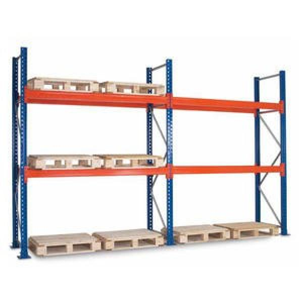 China Factory Good Capacity Steel Warehouse Shelves for Pallets #2 image