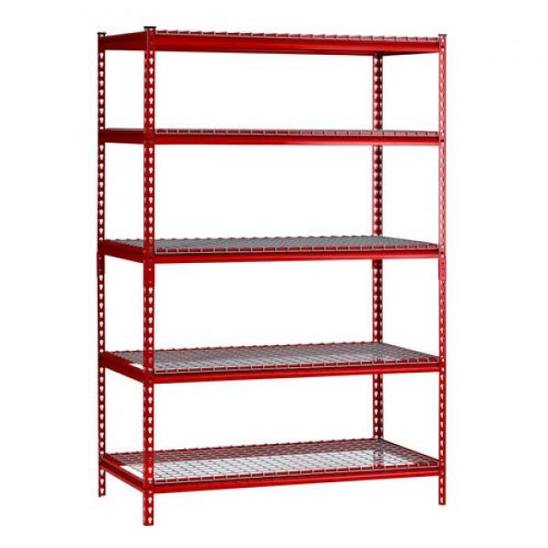5 shelf mobile wire sheving unit #2 image