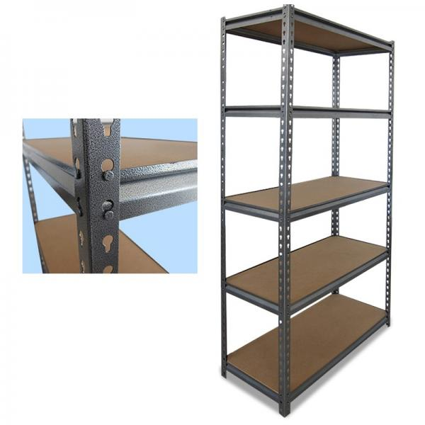 Kitchen Chrome Coated Metal Rack Wire Shelving Unit #3 image