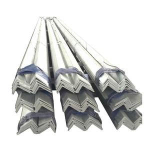 Hot dip galvanized rolled perforated angle iron metal equal steel angle bar #1 image