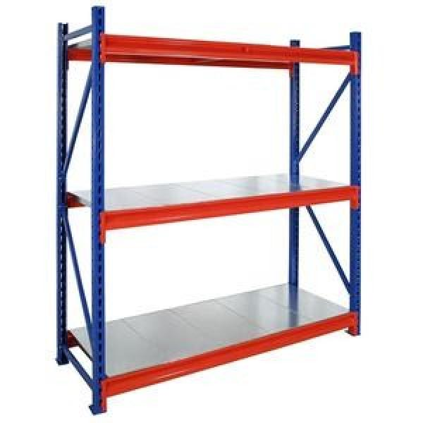 Alloy steel corrosion preventive White bottom wire shelving industrial shelving #2 image