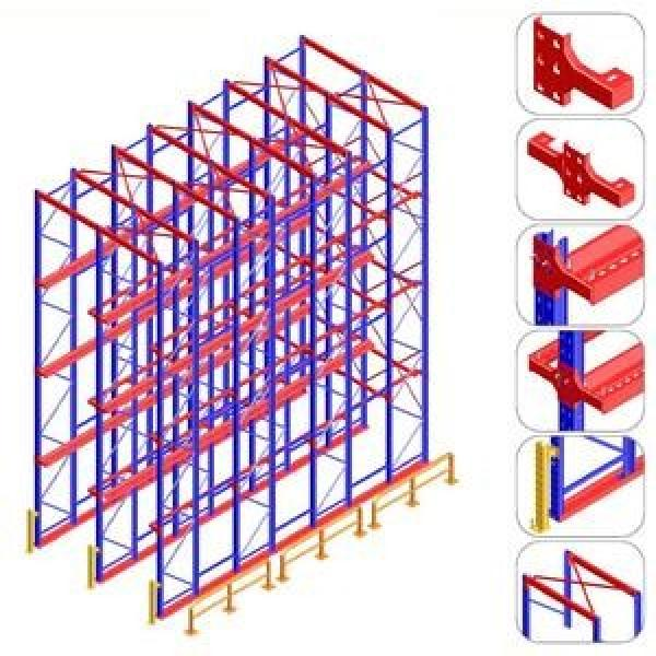 ce sgs tuv iso en15512 warehouse shelf supports industrial storage rack for racking rack shelf factory price #2 image