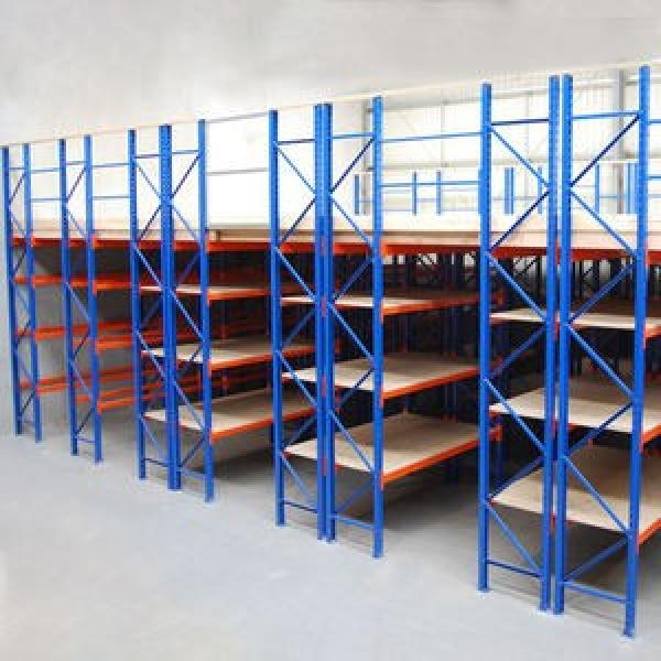 Heavy duty metal display rack for warehouse storage #3 image