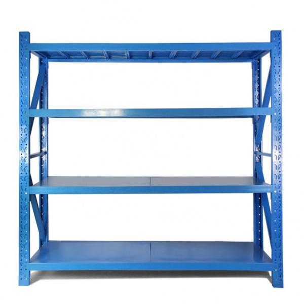 Heavy Duty Garage adjustable mobile warehouse supermarket modular shelving system #1 image