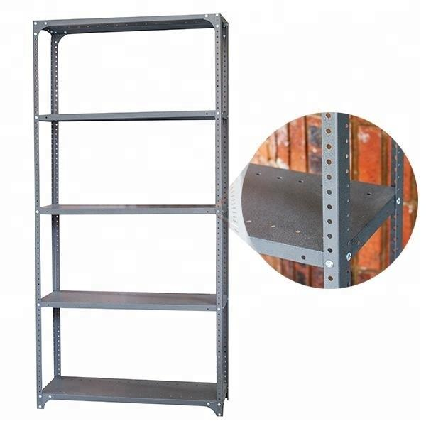 Heavy Duty Garage adjustable mobile warehouse supermarket modular shelving system #3 image