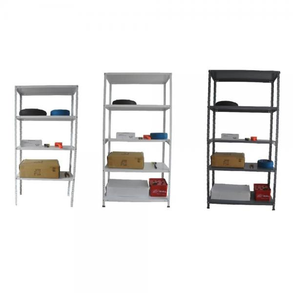 Heavy Duty Garage adjustable mobile warehouse supermarket modular shelving system #2 image