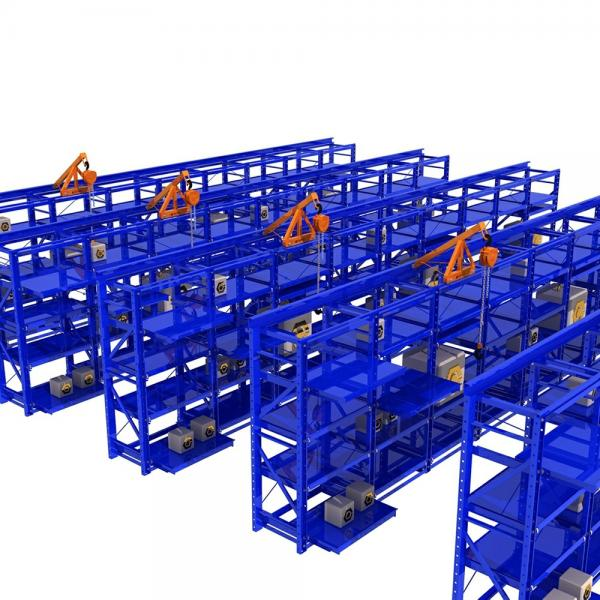 Custom Durable Warehouse Steel Shelving For Grocery Store , wide span shelving,Warehouse Steel Shelving #3 image