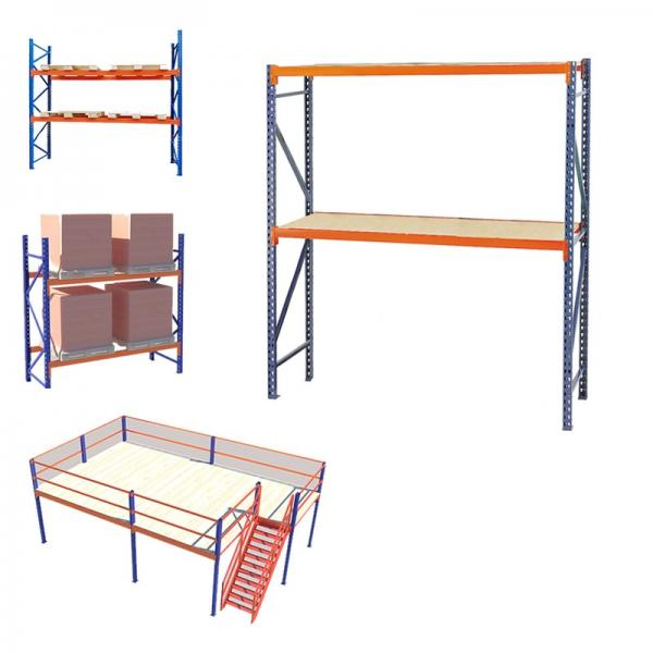 modular warehouse stand stacking rack system for shelving system #2 image